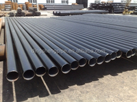 Water glass steel pipe corrugated galvanized steel pipe 1m diameter pipe high pressure