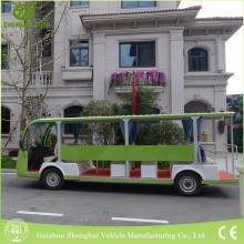 Electric Sightseeing Resort Bus for Tourist