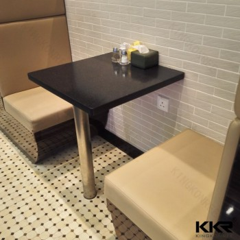 Customized Solid Surface Wall Mounted Dining Table Kitchen Tables Modern