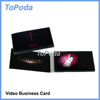 Digital name card with LCD display