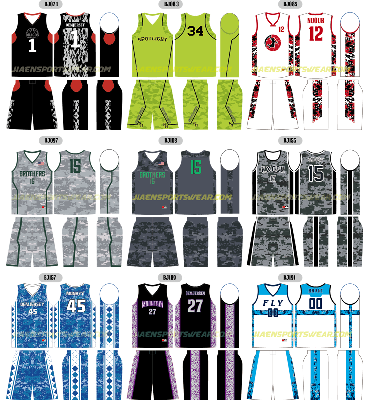 Basketball Jersey Pattern Fashion Latest Basketball Jersey