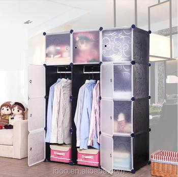 Bedroom Clothes Wardrobe Cube Diy Storage Diy Closet Organizers (fh ...