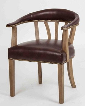 Admirable Antique Boned Oak Wood And Leather Arm Chair Rustic Low Back With Nails Buy Antique Wood Chair Low Back Wood Dining Chair Rustic Solid Wood Arm Creativecarmelina Interior Chair Design Creativecarmelinacom