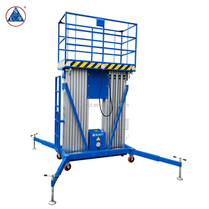 200kg Portable Electric Hydraulic Ladder Lift Aluminum Man Lift