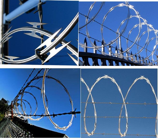 Factory Price Boundary Security System Razor Wire Fence,Sharp Razor ...