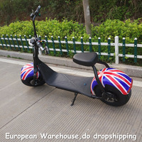 European Warehouse Good quality and cheap price high speed top level 150cc scooter motorbike 1500W 60V 12AH