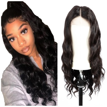 Good Reputation Cheap Virgin Brazilian Hair Lace Closure Wigs For SALE