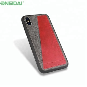Leather Skin Case For Iphone X Case Credit Card Slot Cover