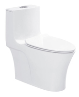 Factory processing cheap one piece wc toilet set