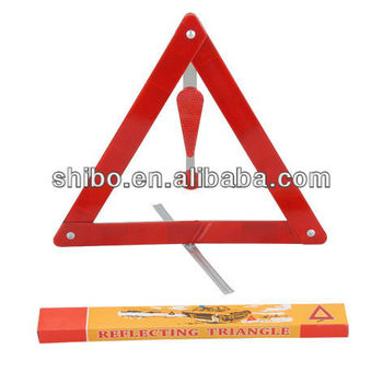 Hazard Warning Triangle,Symbol Warning Triangle,Car Triangle Warning Sign  With Exclamation Mark - Buy Folding Warning Triangle,Cheap Warning