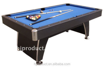 Economic Factory Price 6 Feet Mdf+slate Pool Table, Auto Ball Return System