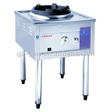 LC-QCL-D1 one buner chinese gas range for hotel ktichen equipment passed ISO9001