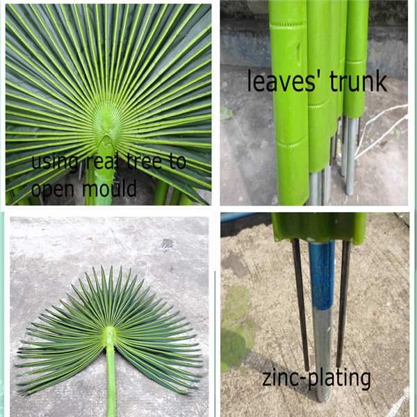 2014 outdoor decorative plastic artificial tree artificial palm tree