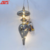 New products spike shaped Chinese glass home decor products with led light
