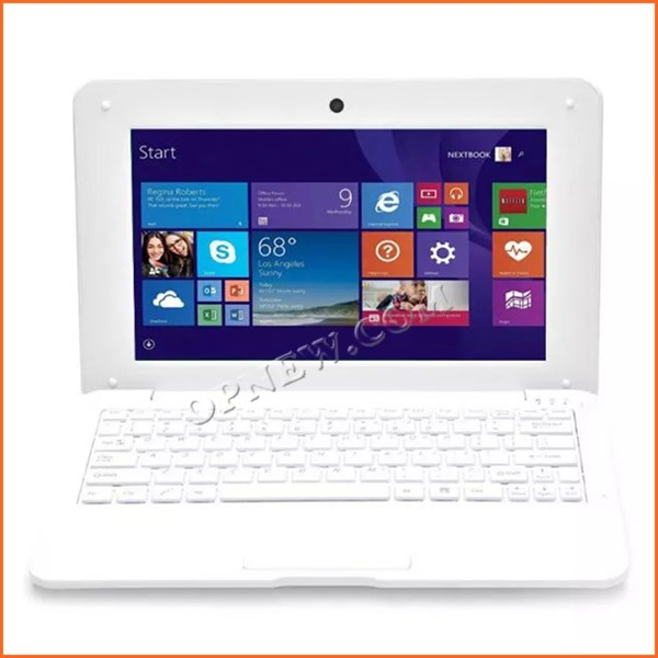 Win10 Netbook Komputer Laptop 10 Inci Oem Grosir Baru Netbook Wifi Usb2.0 32GB Netbook Pc Super Slime