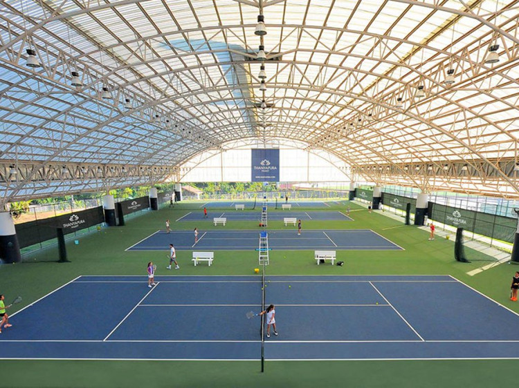 Space Frame Steel Construction Stadium Roof For Badminton