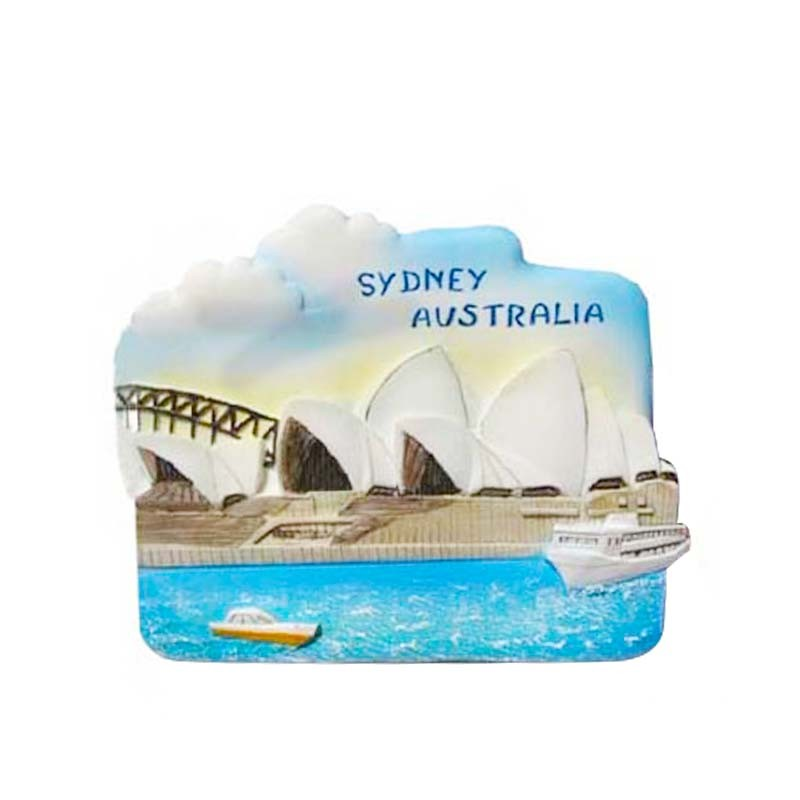 Custom Made European Fridge Magnets Resin Fridge Magnets For Australia Souvenir