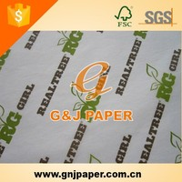 Paper Tissue Packaging For Gift In Sheet
