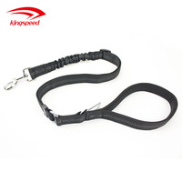 Nylon Dog Retractable Chain Leash Dog Car Safety Seat Belt