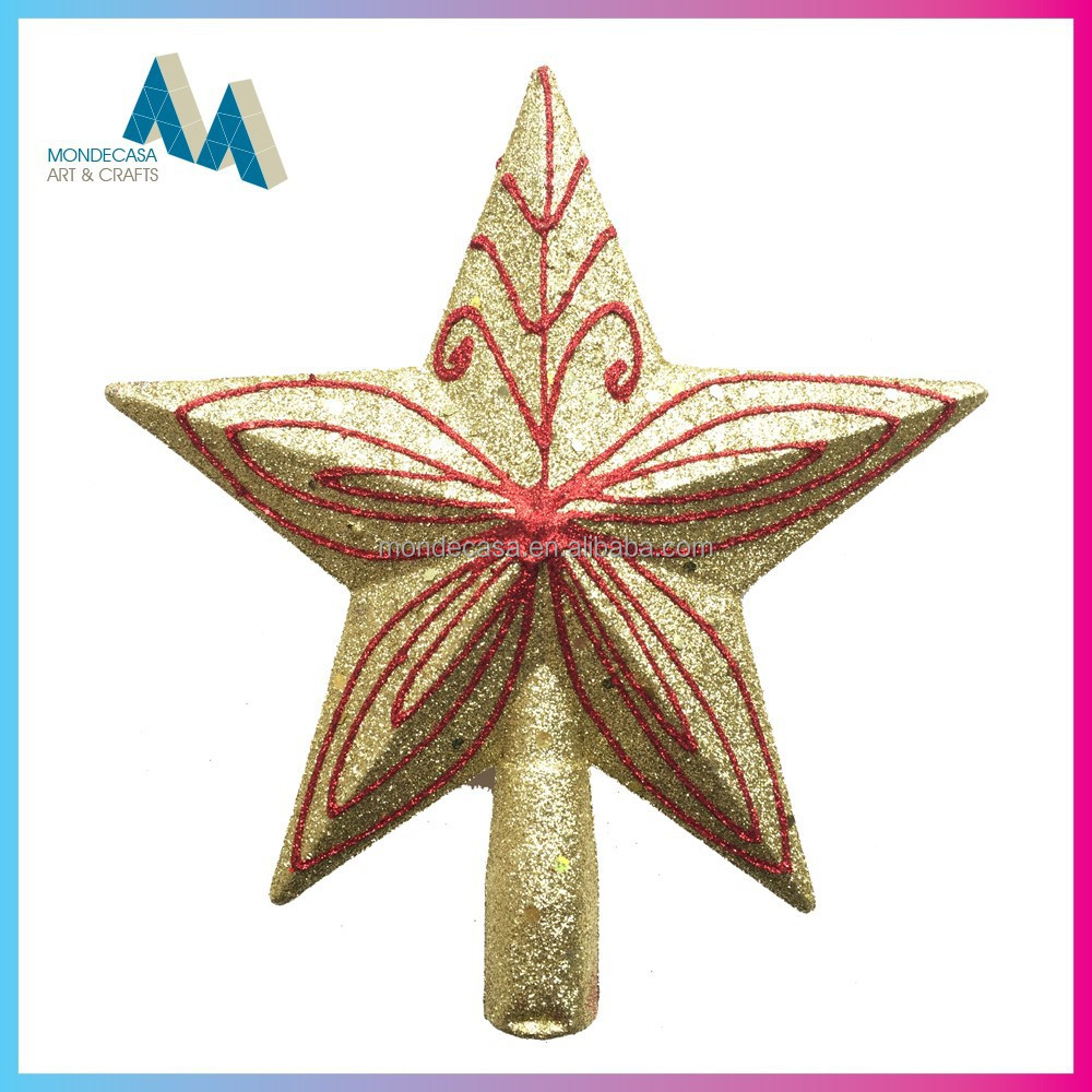 Christmas hanging decoration christmas tree top star