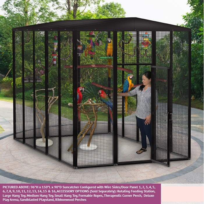 Large Outdoor Parrot Aviary Bird Cages