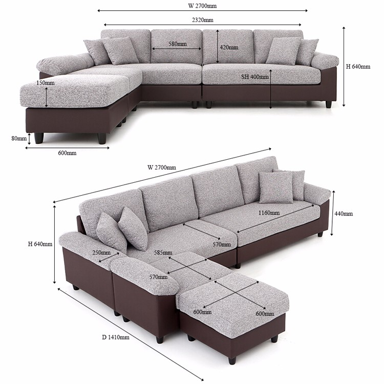 Luxury Cheap Rose Red L Shape High Back Drawing Chesterfield Sofa