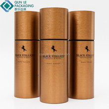 Popular Custom Strong 30ml Round E-liquid Paper Boxes Packaging Bottle Tube Packaging Box