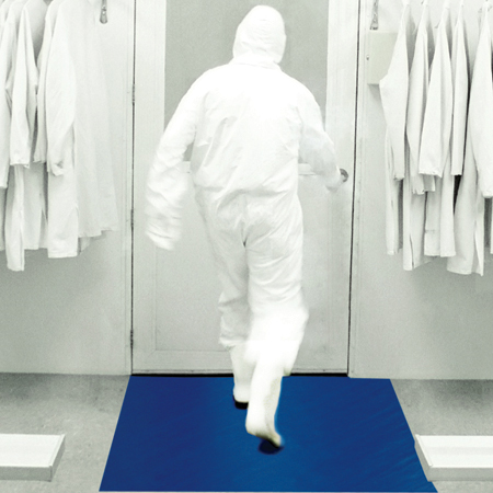 Nidy Disposable PE Cleanroom washable Sticky Mat 30layers 0.05mm