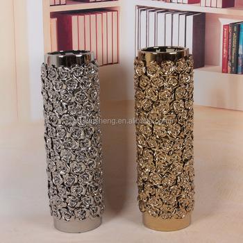 Wholesale Gold Centerpieces Ceramic Home Goods Floor Vase Buy Home
