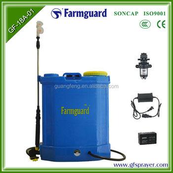 High Pressure Electric Garden Sprayer Battery Powered Backpack ...