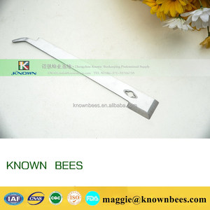 wholesale durable best quality stainless steel bee hive scraper tool for bee hive of beekeping equpiement