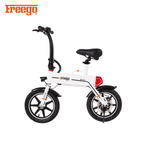 Freego Custom /Wholesale folding Electric Bike Colorful Mini Electric Bicycle