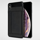 Cheap price PC PU leather magnetic card holder kickstand mobile phone protection cases for iphone 8 case