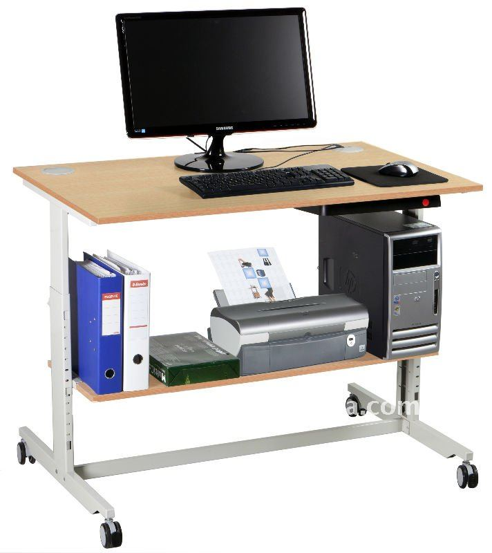 Computer Desk With Wheels Supplieranufacturers At Alibaba