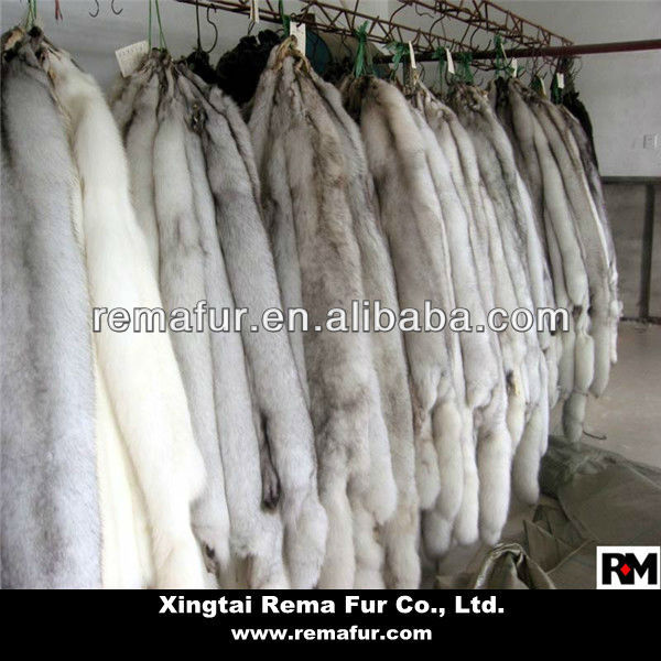 Quality Blue Fox Fur Skin Pelt