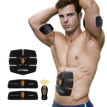 New Arrival Body Toning Wireless Smart Muscle Fitness Training Instrument Lazy Rechargeable Household Abdomen Abdominal Machine