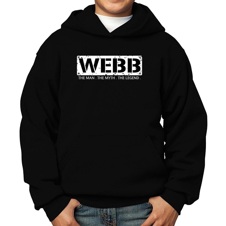 Teeburon Webb The Man The Myth The Legend Boy Hoodie