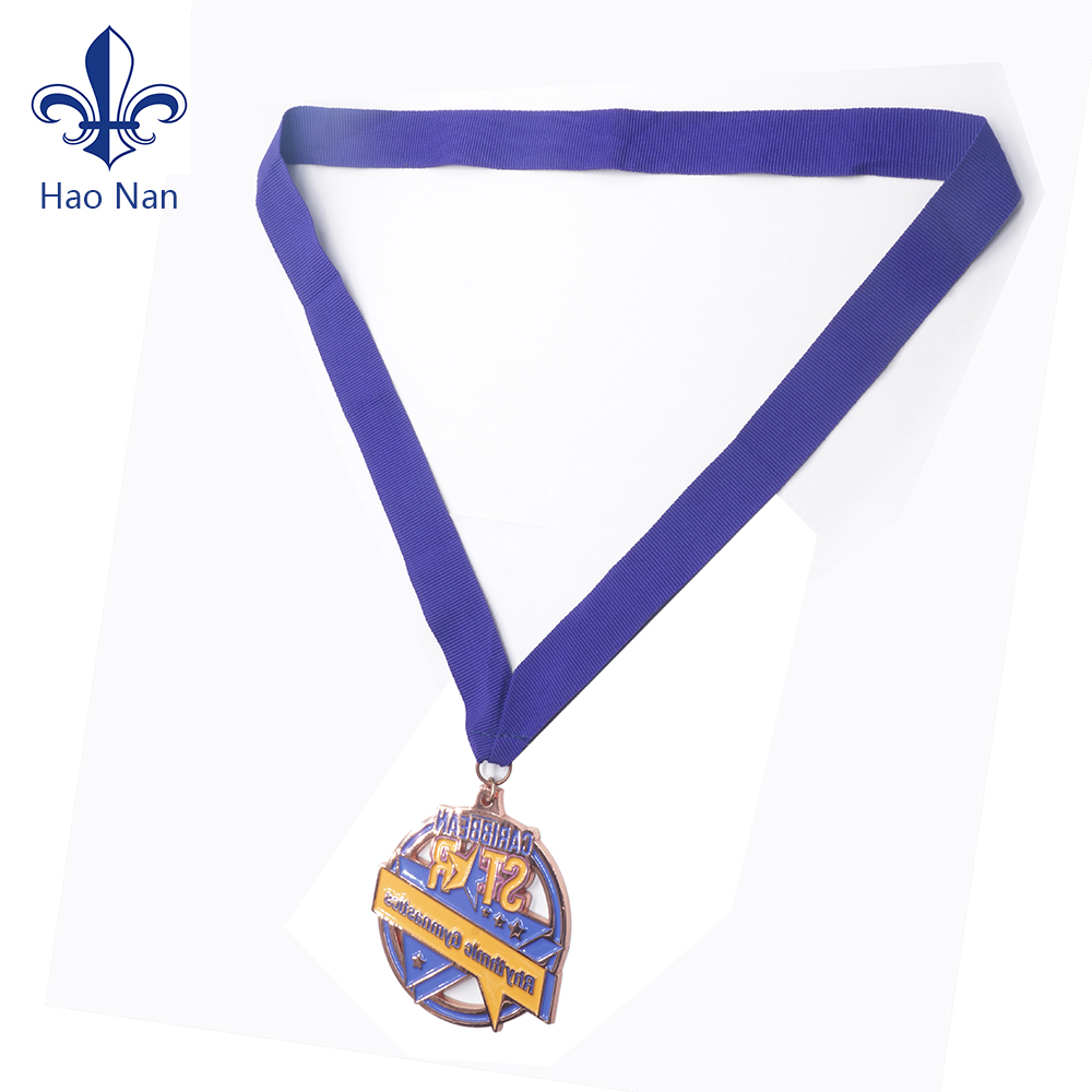 Medal Ribbons Lanyards with Gold clips 22mm wide 10 x Grey