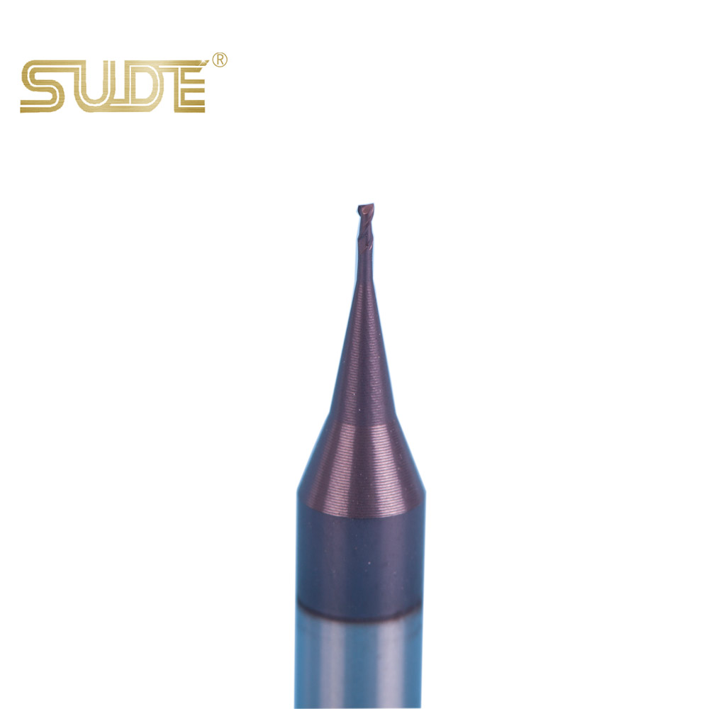 SUDE CNC Jewellery Carbide Tools Solid Tungsten Carbide Micro End Mills Milling Cutter Tools