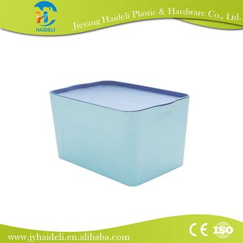 Foldable Storage Box Keyway Plastic Storage Box Doll Storage Boxes