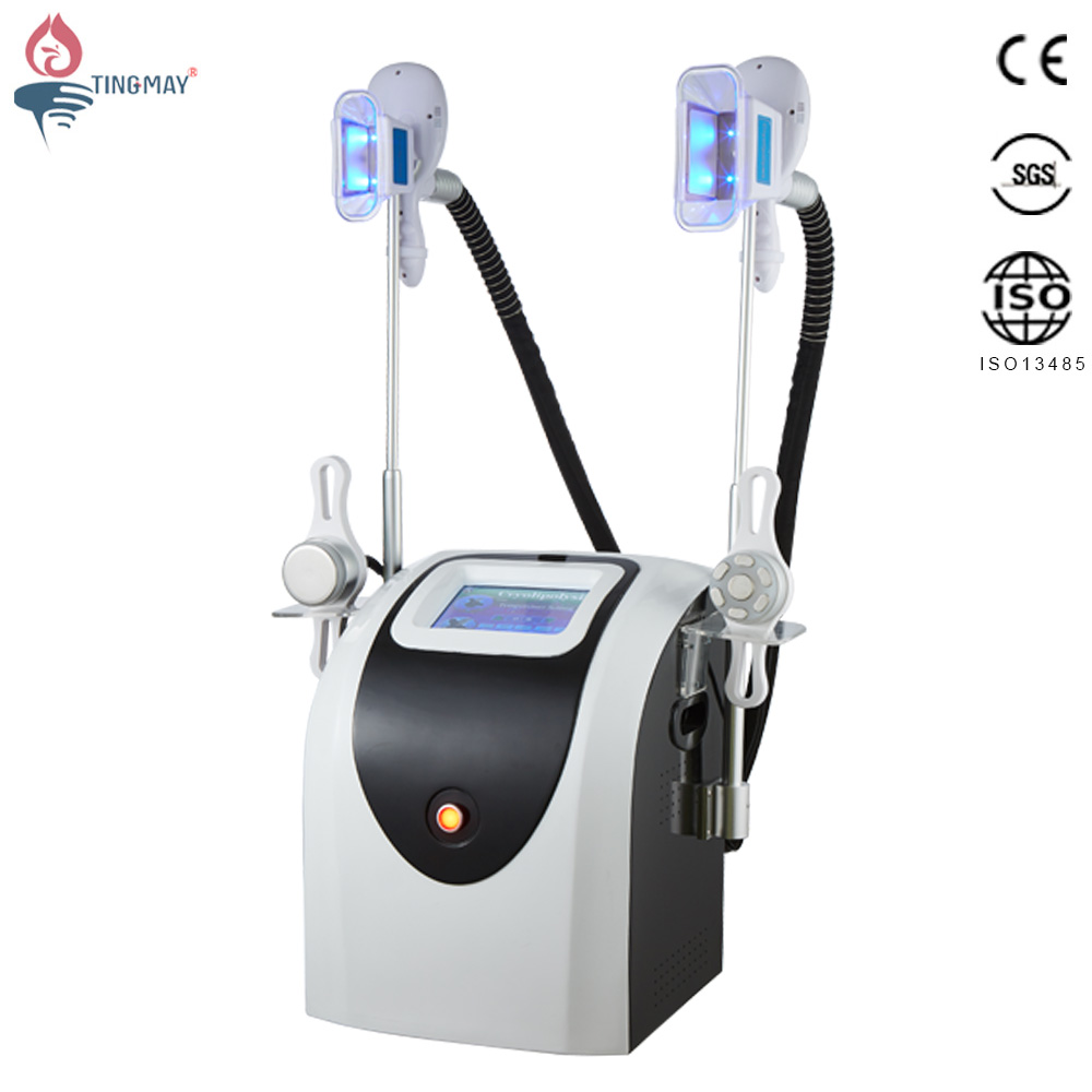 4 in 1 40K Cavitation RF Vaccum Cryo Cryotherapy Fat Freezing Body Slimming  Machine TM-908D