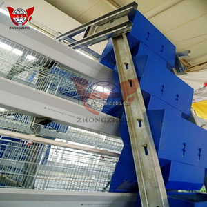 Poultry farm automatic cheap A type quail/chicken cage for sale