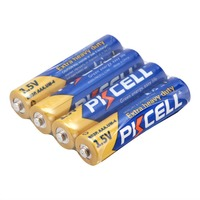 PKCELL Heavy Duty Battery UM-4 Size 1 5v Dry Battery R03 U M4 AAA 1.5v Pencil Battery for Remote Control Toys Camera