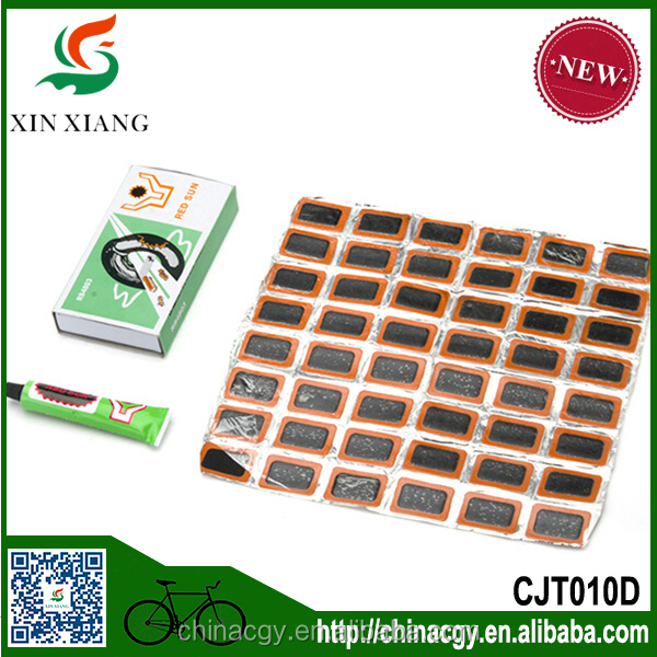 multi patches for bike tire/China cheap box set patches whole set