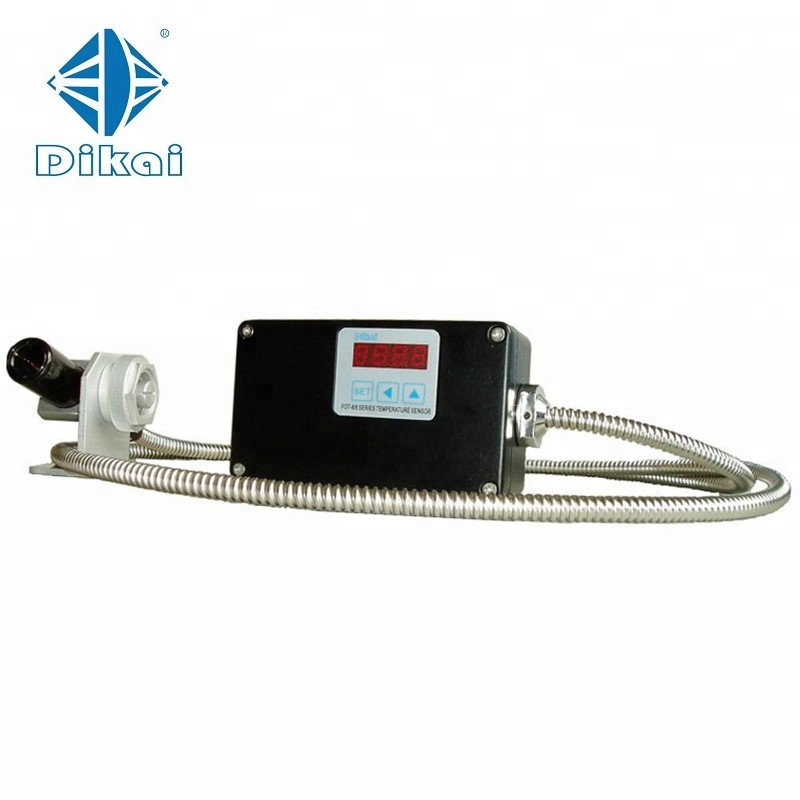 Professional manufacture laser point Infrared temperature sensor / Industrial Optic fiber IR thermometer - KingCare | KingCare.net