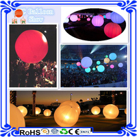 2016. inflatable led stand light balloon,advertising/decoration led tripod