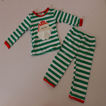 Baby Outfits Top Match Long Sleeve Cotton Pants Set Christmas Cute