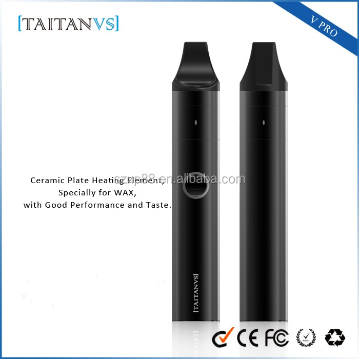 Customized Package Especially for Wax Substance Wax e Vaporizer Pure Taste Portable Pen Vape Kit