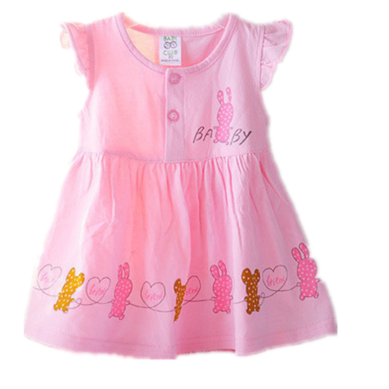 ac98e10c2f4 Get Quotations · 2015 Summer Style Quality Baby Clothing Infant Girl Dress  3 Color Newborn Baby girl dress vestido