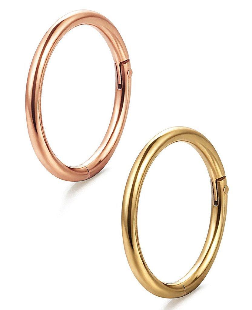 Buy Womens Body Jewelry 16g 5pcs Stainless Steel Septum Piercing